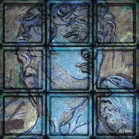 """Omaggio """"David"""" di Michelangelo (9 Bloques)"""