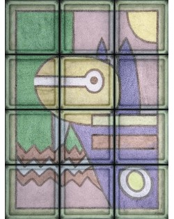 """Omaggio a Klee """"Pittura 1914"""" (12 Bloques)"""