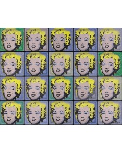 """Omaggio a Andy Warhol """"Marylin"""" (20 Bloques)"""
