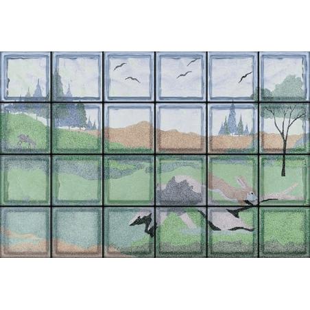 Paesaggio con Coniglio (24 Bloques)