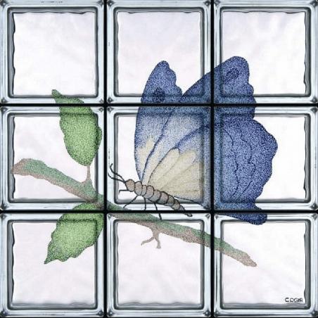 Farfalla Saturnia de 9 Bloques