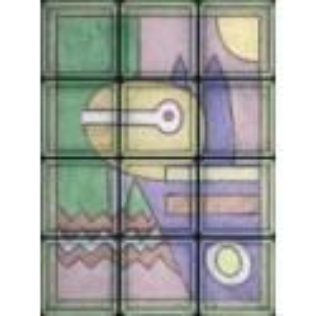 "Omaggio a Klee ""Pittura 1914"" de 12 Bloques"