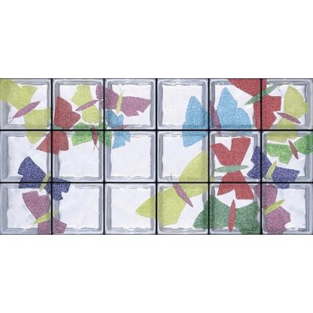 Composición Volo di Farfalle de 18 Bloques