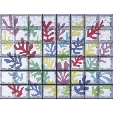"""Composición Omaggio a Matisse """"Lex Coraux"""" de 48 Bloques"""
